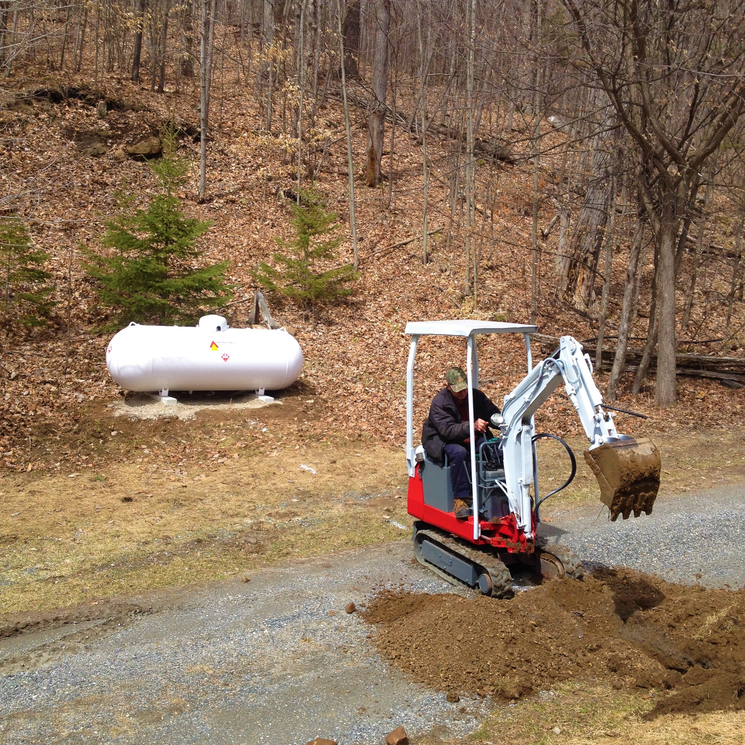 Website - Services Drop Down - Propane Tank Placement